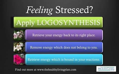 Feeling Stressed? Apply Logosynthesis.