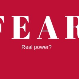 Is_fear_real_power
